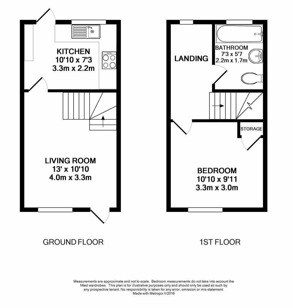 Floorplan for Timber Mill, Horsham